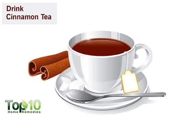 cinnamon tea to regulate blood sugar