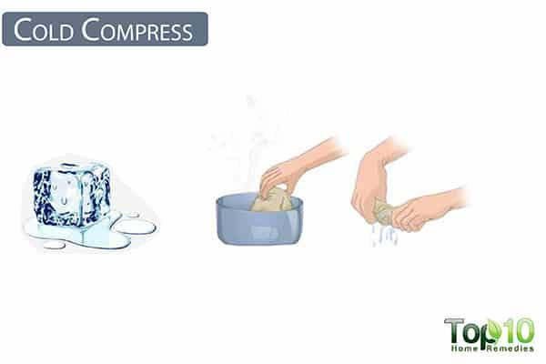 cold compress for ear pain in children
