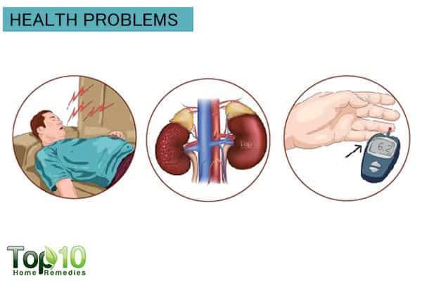 health problems increase risk for hypertension