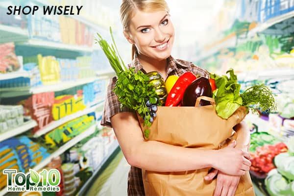 shop wisely to cook healthy
