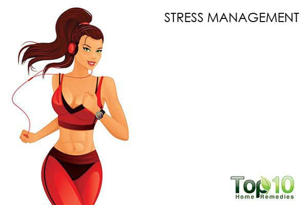 reduce stress to control hormonal acne
