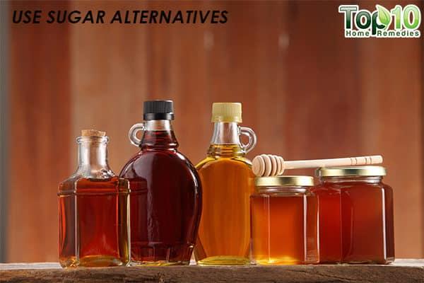 use sugar alternatives