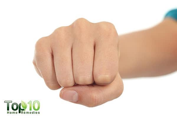 treat dark knuckles