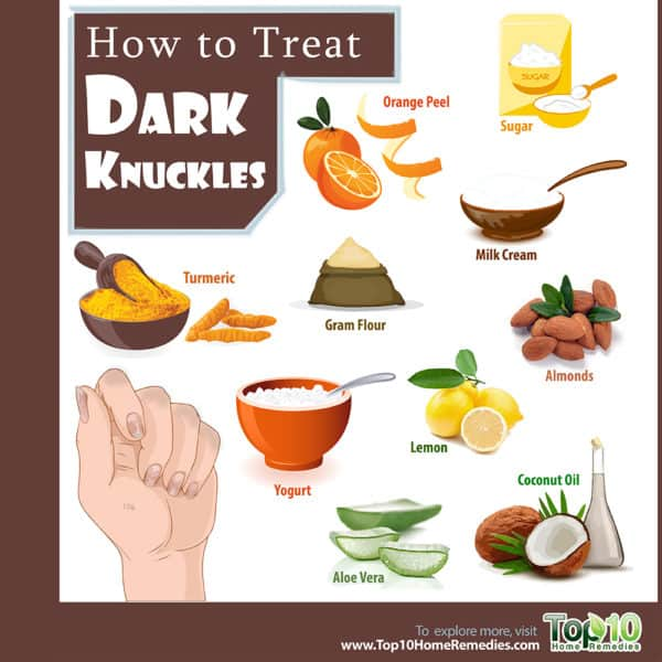 how to treat dark knuckles