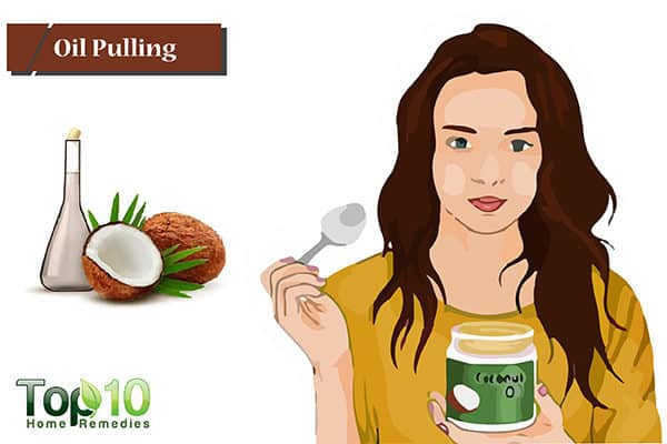 oil pulling to control receding gums