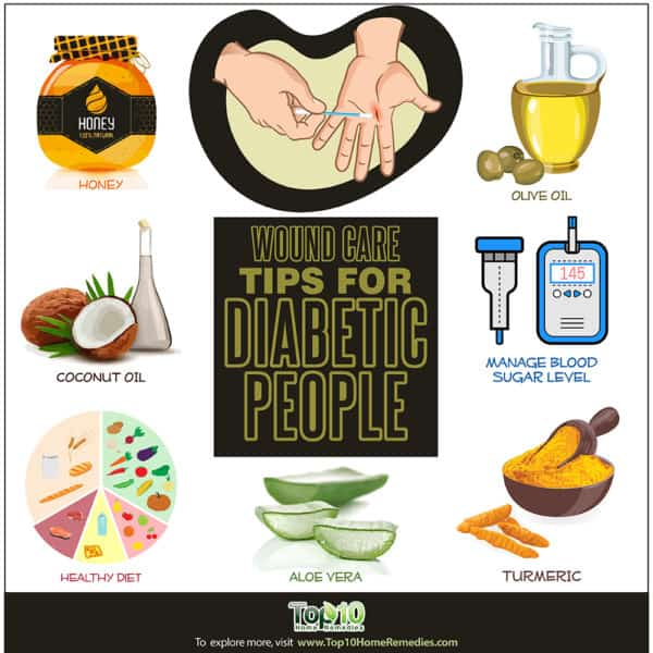 wound care tips for diabetic people