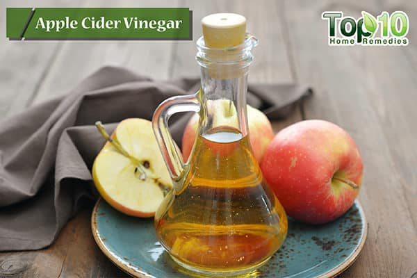 apple cider vinegar to reduce dry cough