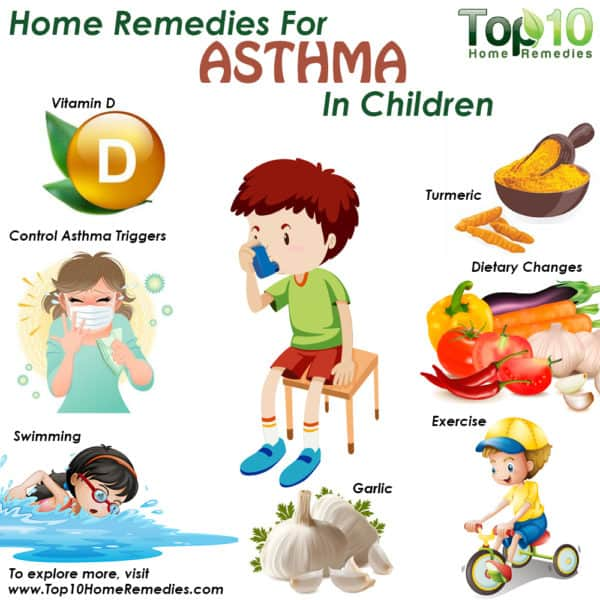 home remedies for asthma in children