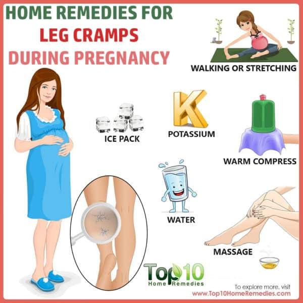 home remedies for leg cramps during pregnancy