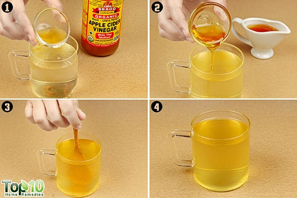 apple cider vinegar to reduce belly fat