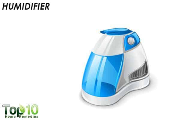 humidifier to deal with a head cold