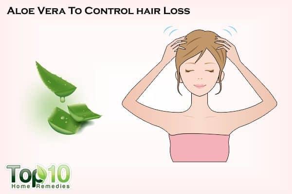 aloe vera to control hair loss