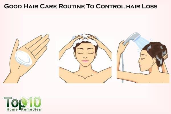 hair care to reduce hair loss