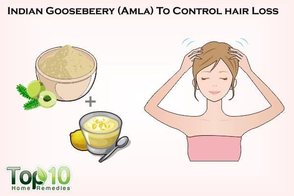 amla to control hair loss
