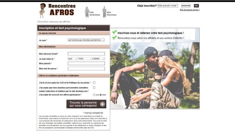 Afros-Rencontres.com - avis 2017
