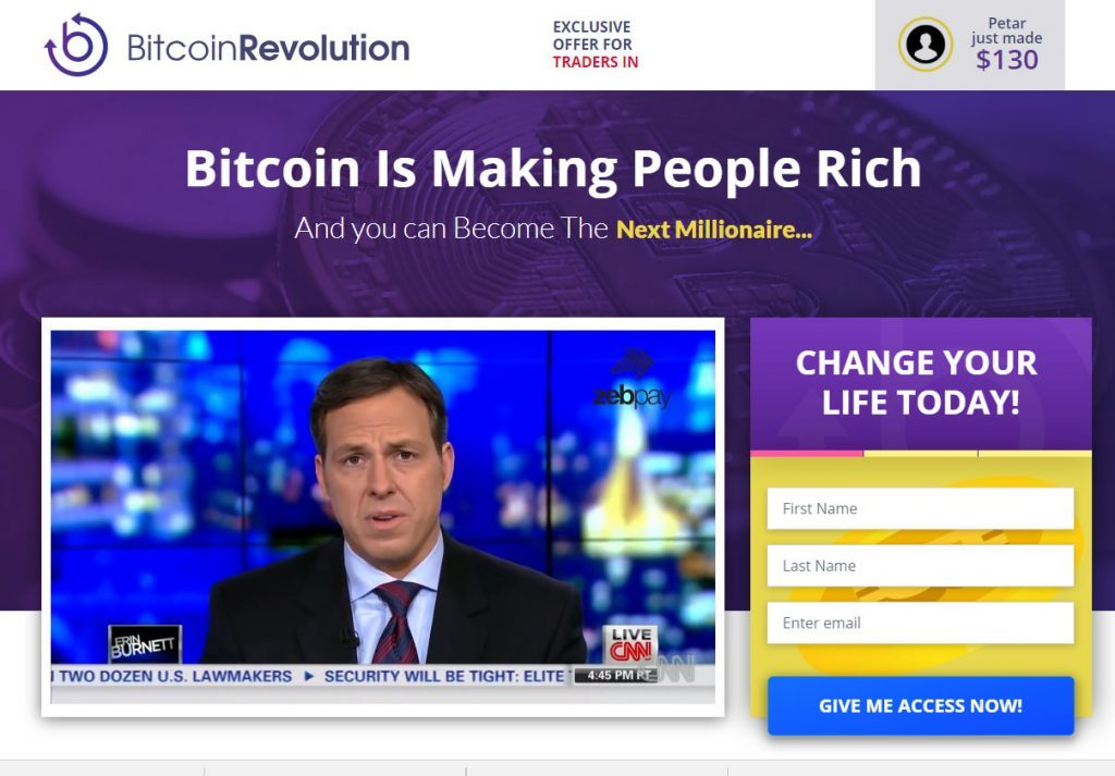Bitcoin Revolution System Review 2019 – Is Bitcoin Revolution a Scam