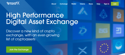 eToroX Crypto Exchange