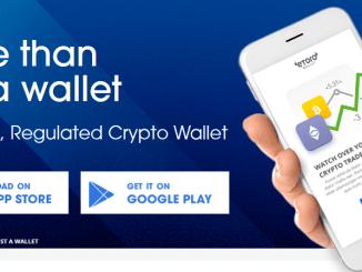 eToroX Crypto wallet