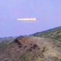TV Crew Spots Huge UFO