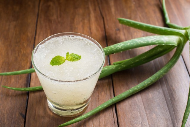 Aloe Vera pulp as a super food