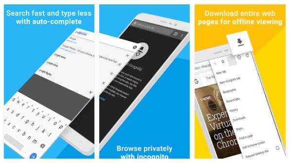Chrome Browser App