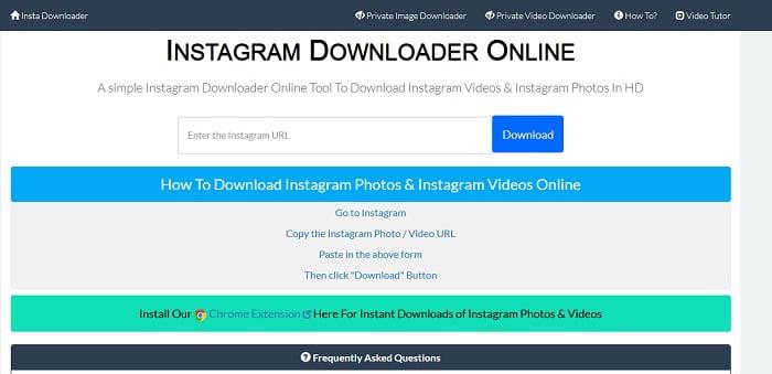 download image from instagram online