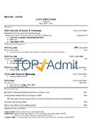 college admission resume samples amp application resume samples