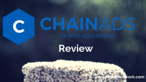 ChainAds Review: Crypto Advertising Solution