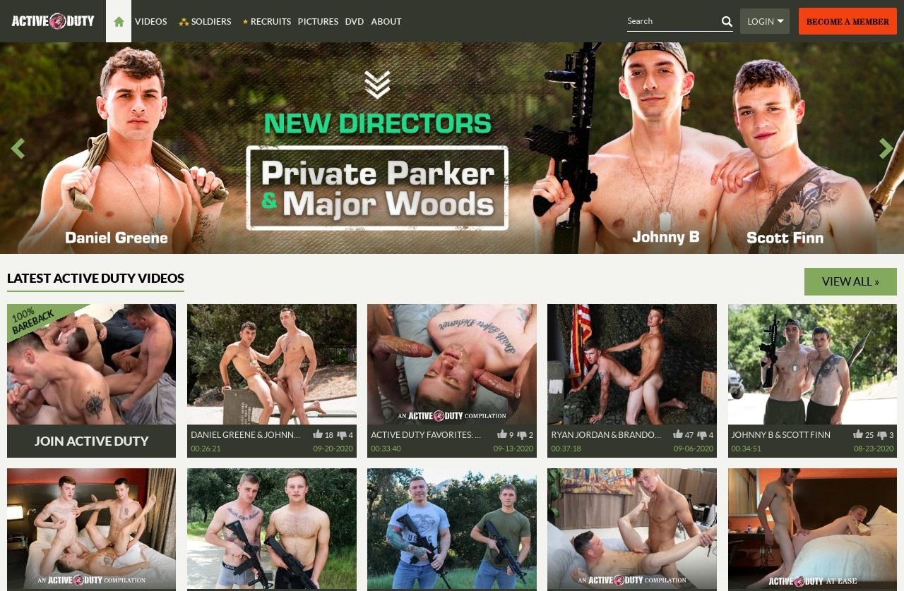 ActiveDuty - Top Premium Gay Porn Sites