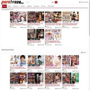 PornBraze - Top Asian Porn Sites