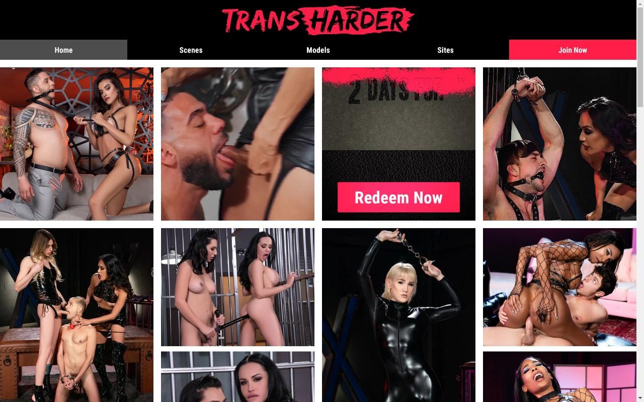 Transharder - Top Premium Shemale Porn Sites