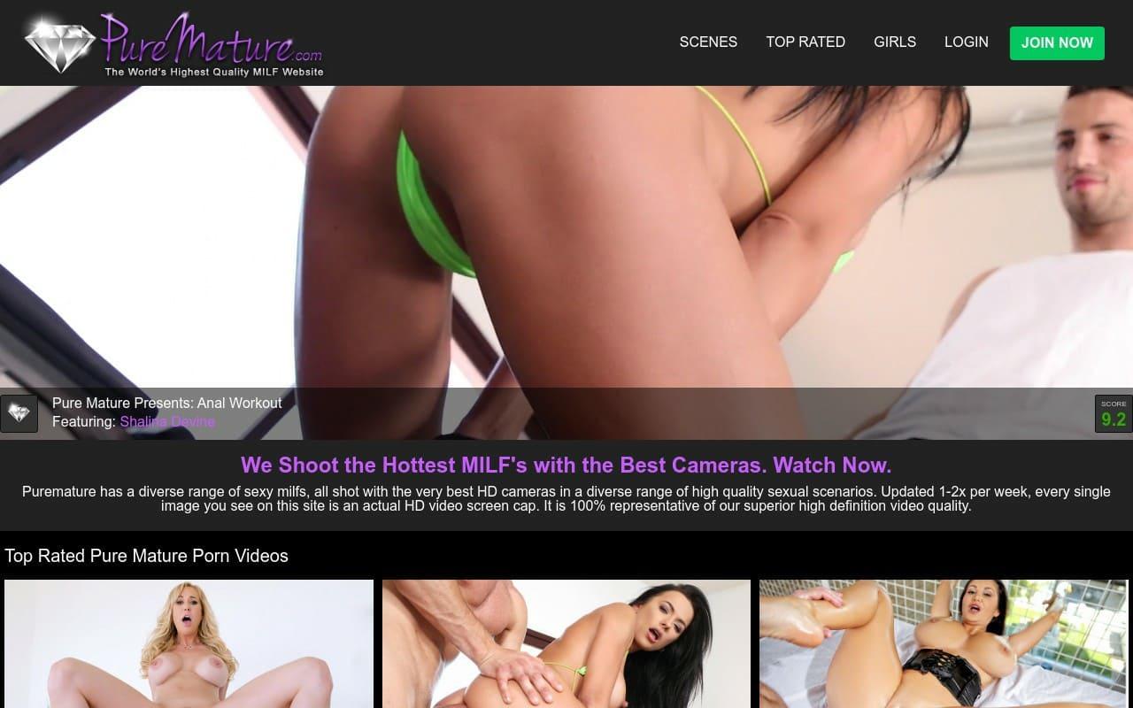 PureMature - top Milf Porn Sites List