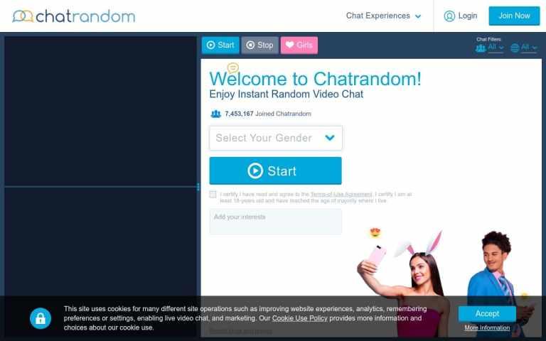 Chatrandom - top Sex Chat Sites List