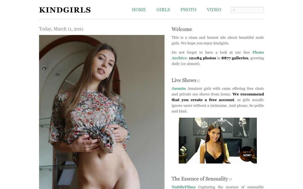 Kindgirls - top Naked Girls Galleries List