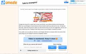 Omegle - top Sex Chat Sites List