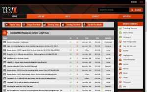 1337X - top Porn Torrent Sites List