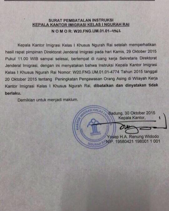 Indonesia visa on arrival limitations cancelled