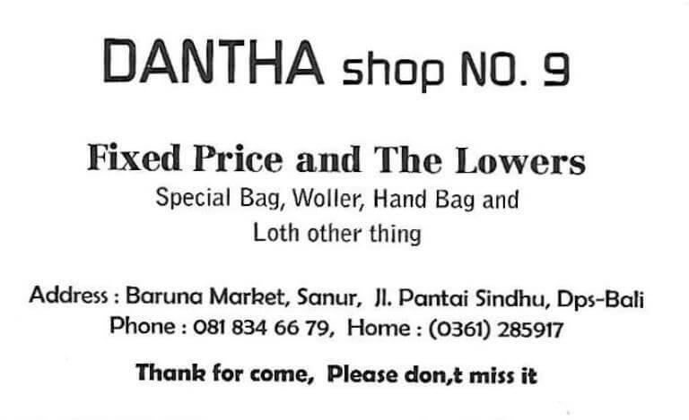 Dantha Shop