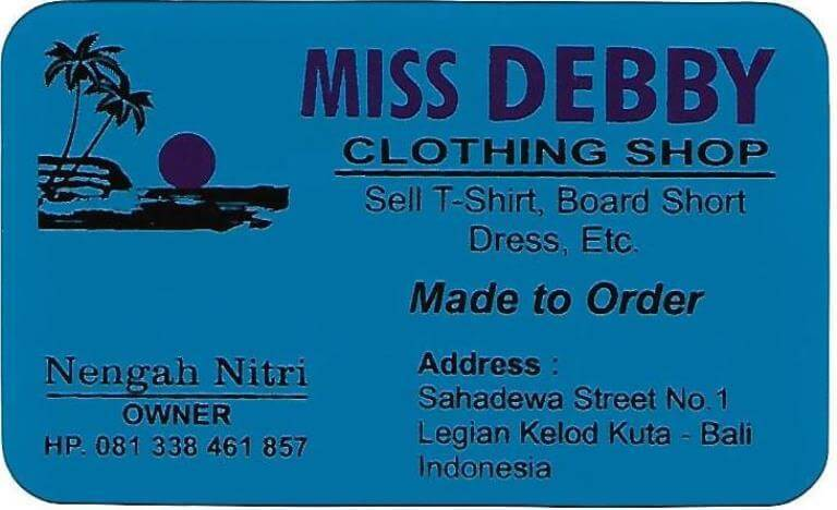 Miss Debby Clothing Shop