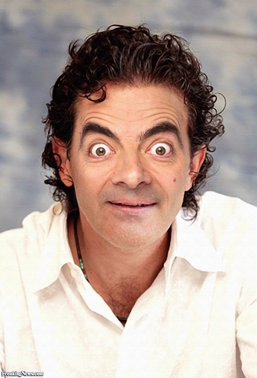 Funny Mr Bean Face Swap 20 Funny Pictures