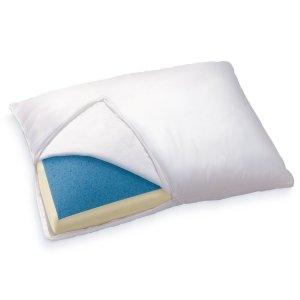 #10. Sleep innovations reversible gel memory foam pillow