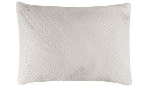 #3. Snuggle Pedic bamboo memory foam pillow