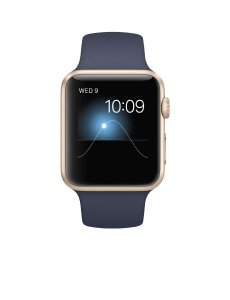 #5. Apple watch sport with gold Aluminum case
