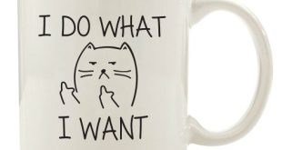#2. I Do What I want Cat Funny