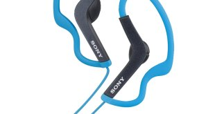 9. Sony MDR-AS200/BLU Sports Headphones- Blue