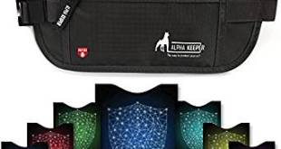Money Belt For Travel With RFID Blocking Sleeves