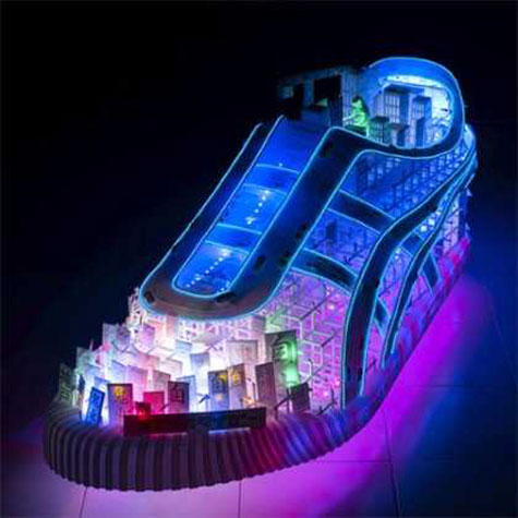 or else, the little old lady who lived in a shoe ... solar powered whole eco village inside ... WTF?