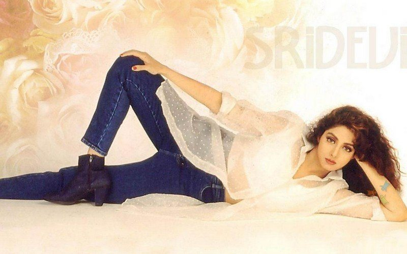 Image result for sridevi young jeans