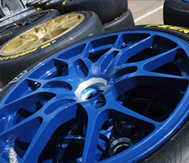 top car detailing alloy wheel refurb