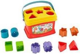 Fisher-Price Brilliant Baby's First Blocks